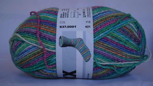 Lang Yarns Super Soxx Cotton Stretch Color Farbe 01