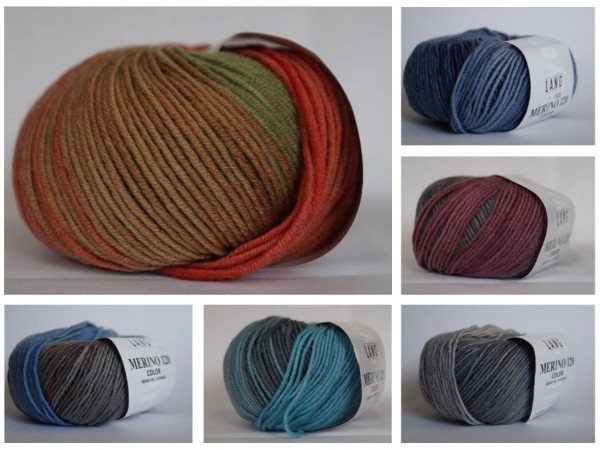 Lang Yarns Merino 120 COLOR