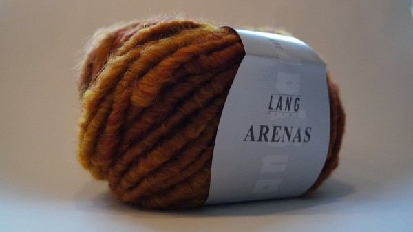 Arenas: Farbe  75 rost-rot - 100g