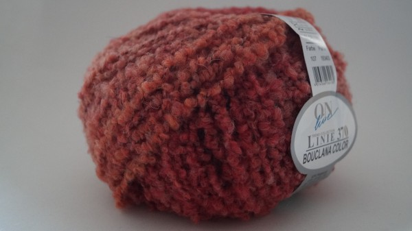 Bouclana Color:Farbe 107 rot-rost - 50g