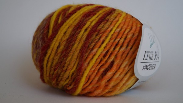 Vincenza:  02 gelb-orange-rot - 50g